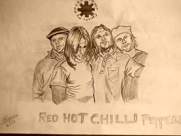 Red Hot Chili Peppers por vipinks